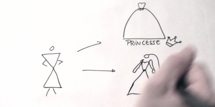 Draw my Dress : des conseils pour choisir sa robe de mariée... en dessin (vidéo)