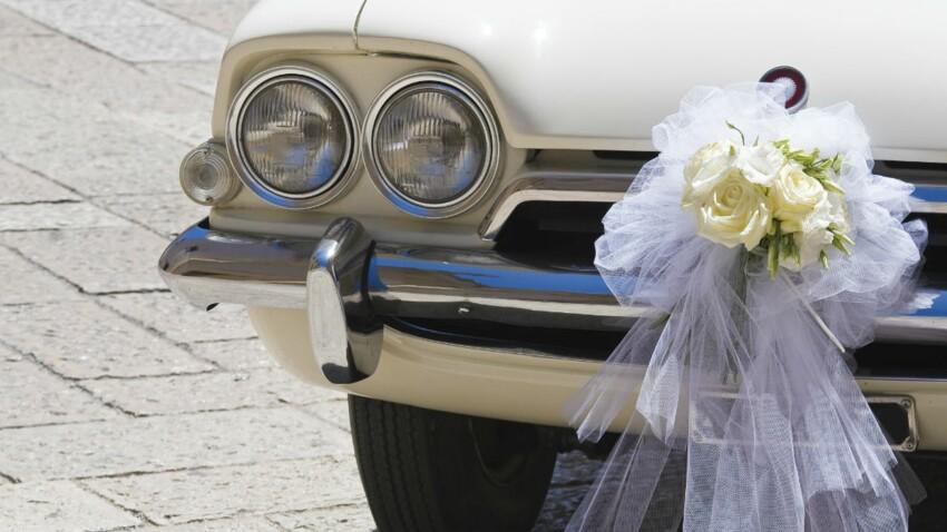 Mariage : nos idées déco pour la voiture