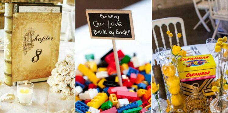 Décoration de mariage : 15 centres de tables originaux