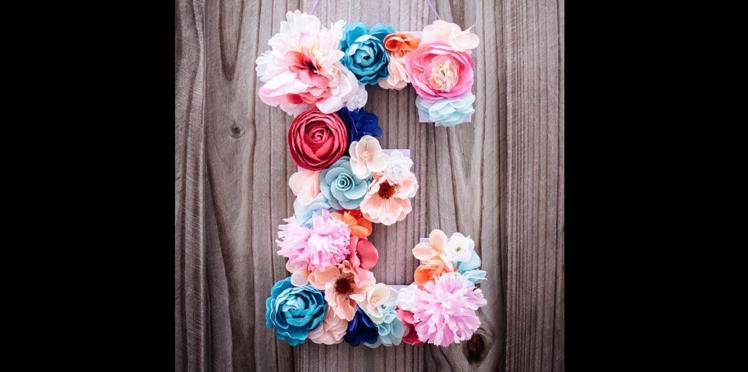 DIY : des lettres géantes pour mon mariage
