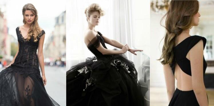Et si j'osais une robe de mariée... noire?