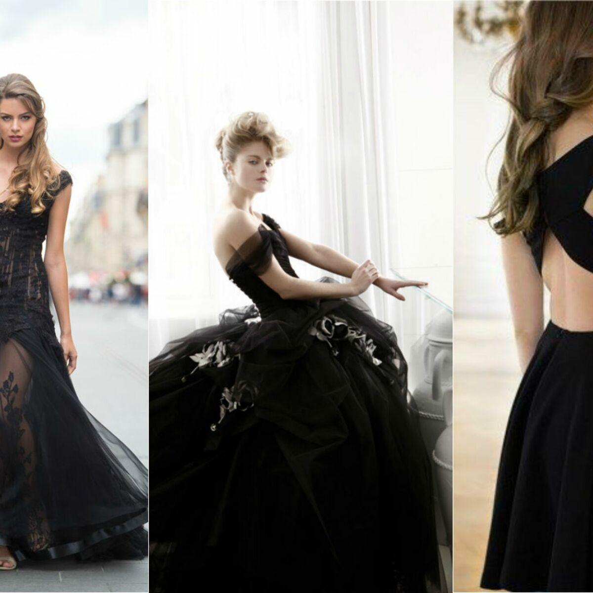 Et si j'osais une robe de mariée noire ?