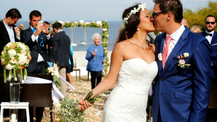 Histoire de mariage: le joli jour au bord de la mer de Janice et Christophe