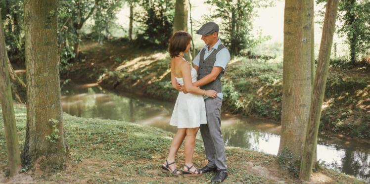 Histoire de mariage: le joli jour vintage de Charlotte et Maxence