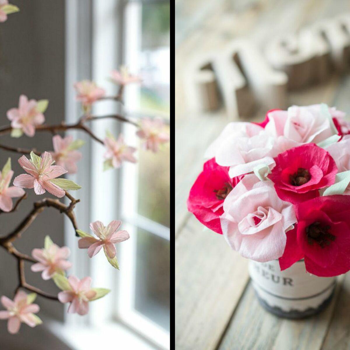 30 Idees De Decorations De Mariage En Papier Crepon Reperees Sur Pinterest Femme Actuelle Le Mag