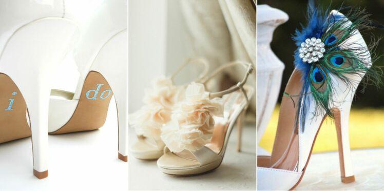 8 idées pour customiser ses chaussures de mariage