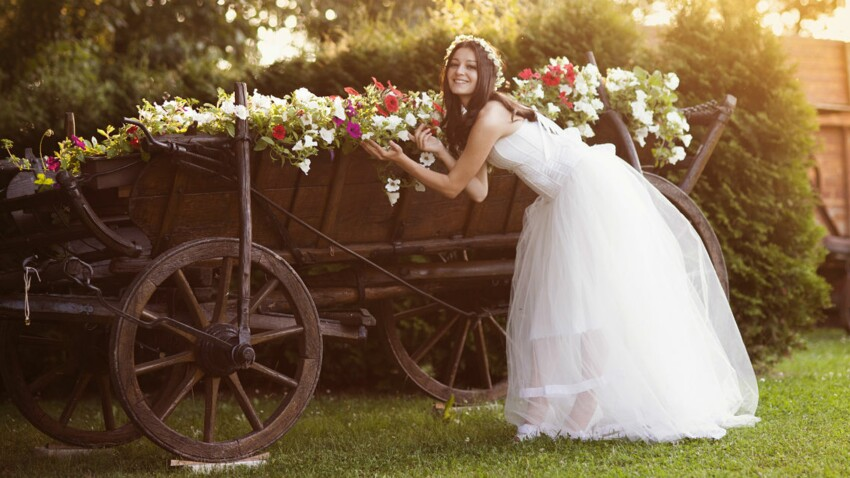 Je veux un mariage champêtre, chic et romantique