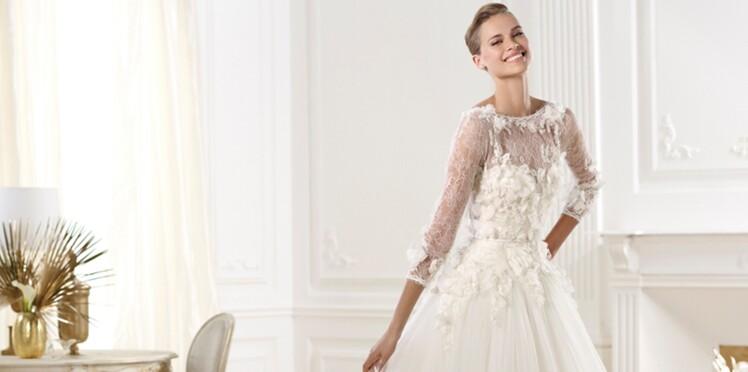 Les plus belles robes de mariée collection 2014   Femme Actuelle Le MAG 58e0a733fe56