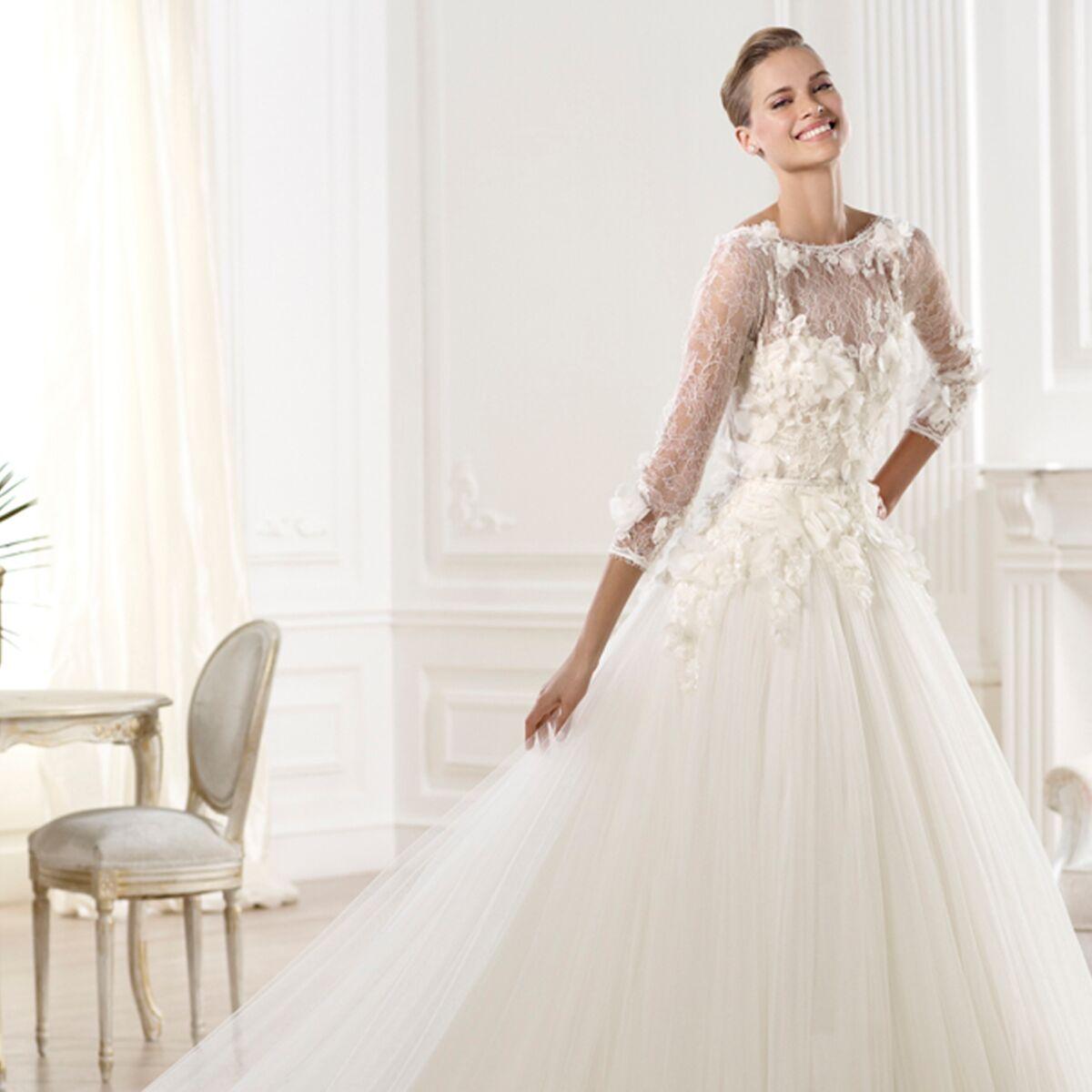 Les Plus Belles Robes De Mariee Collection 2014 Femme Actuelle Le Mag
