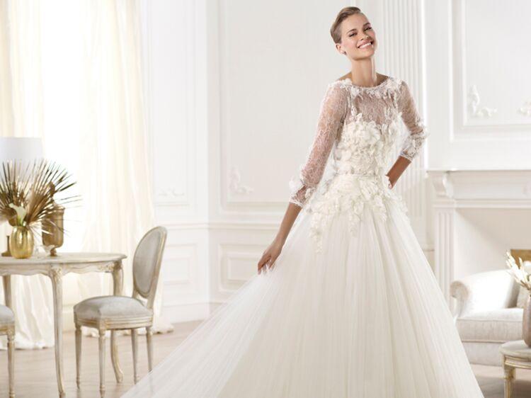prix bas livraison gratuite style le plus récent Les plus belles robes de mariée collection 2014 : Femme ...