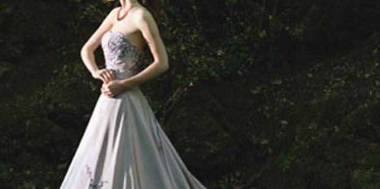Les robes de mariée de couleur