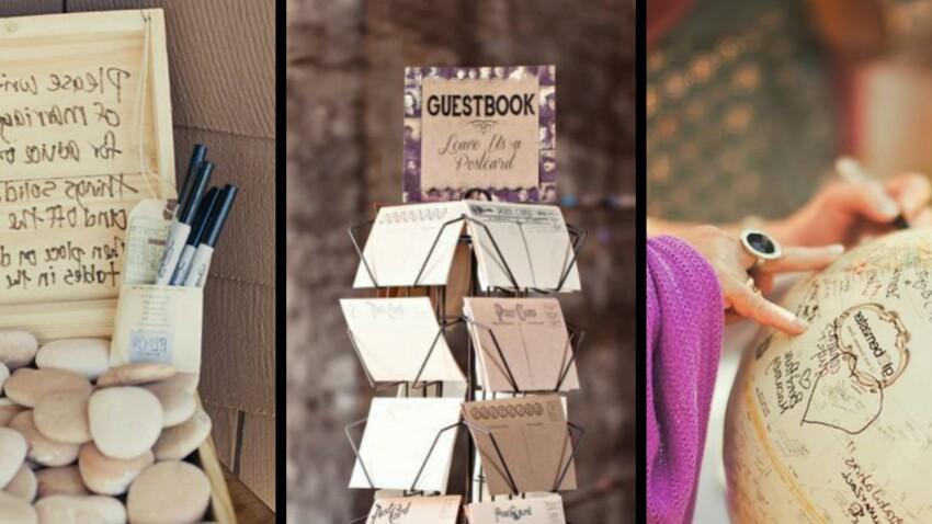 Idée Mariage Original Je veux un livre d'or de mariage original : 40 idées repérées sur