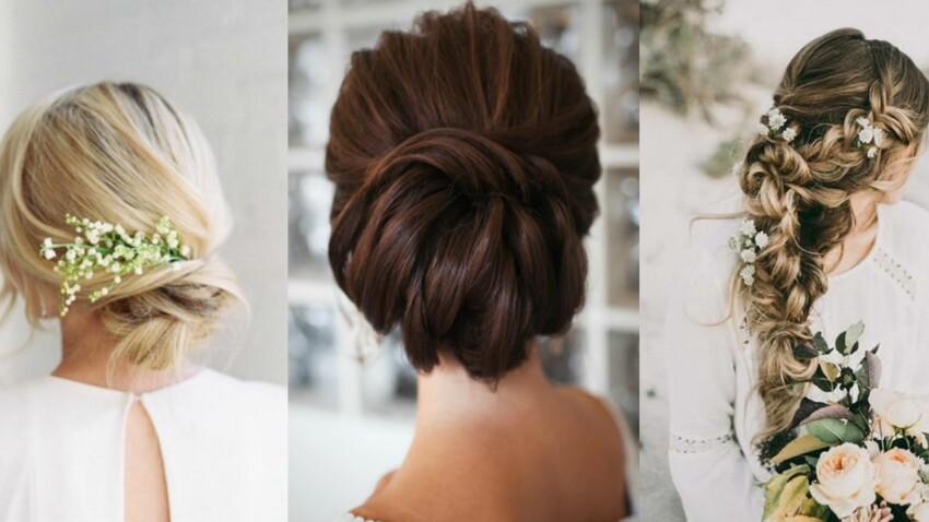 Mariage 40 Coiffures Pour Cheveux Longs Reperees Sur Instagram Femme Actuelle Le Mag