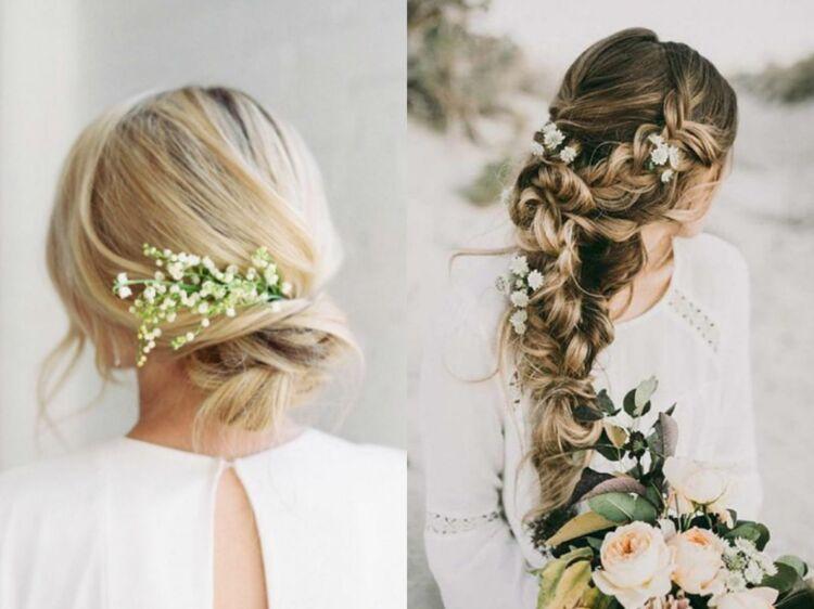 Mariage 40 Coiffures Pour Cheveux Longs Reperees Sur Instagram