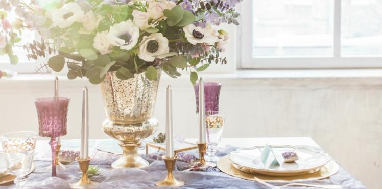 Mariage : quelle décoration pour la table des mariés ?