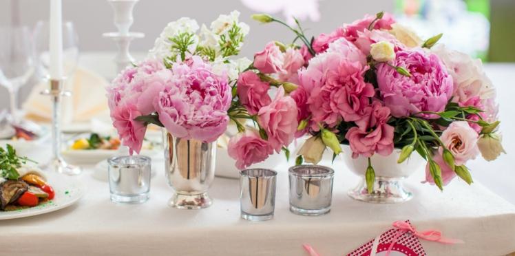 Mariage : quelles fleurs utiliser pour la décoration ?