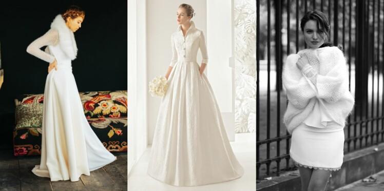 37d7a1ec353 PHOTOS - Mariage d hiver   35 robes de mariée féeriques   Femme ...