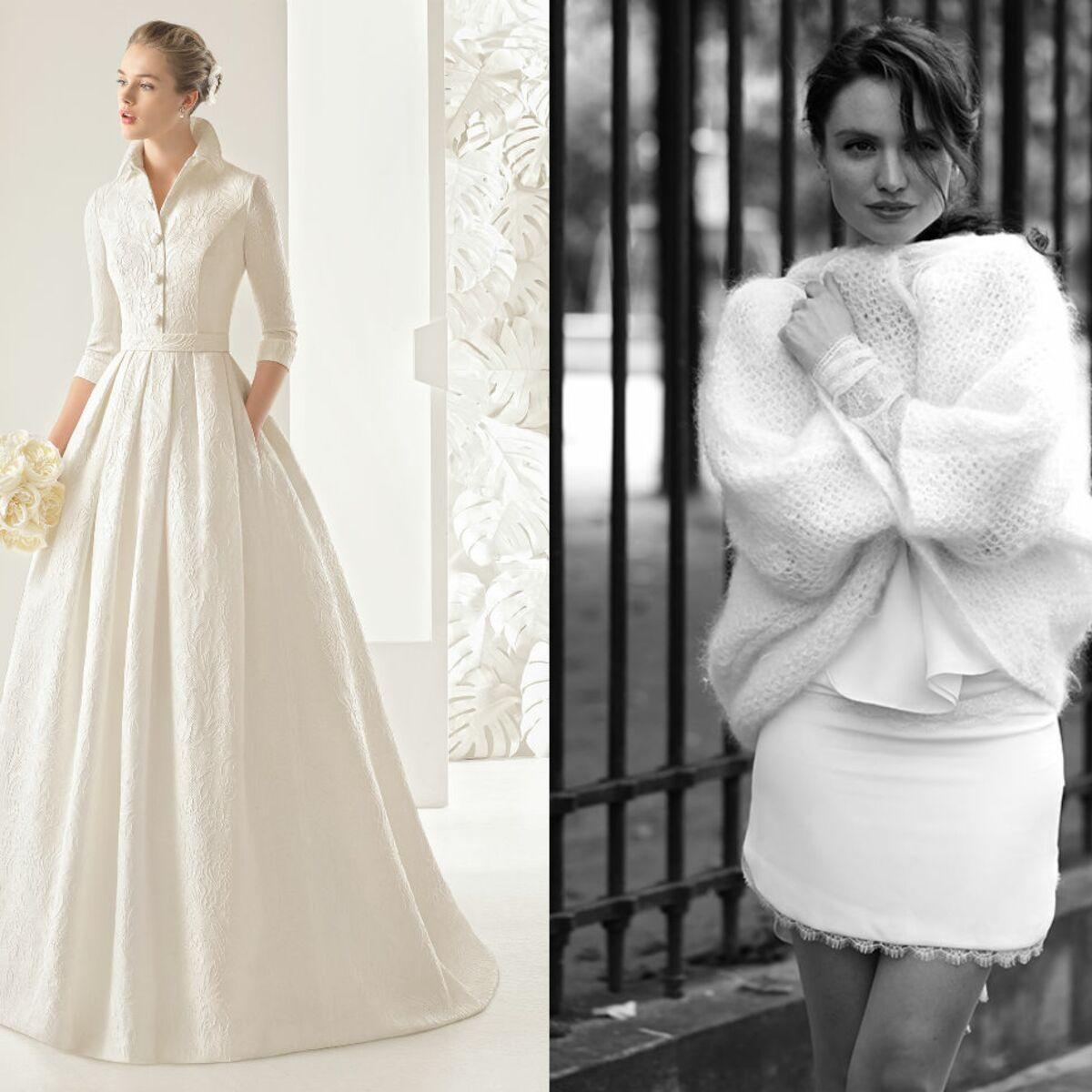 PHOTOS - Mariage d'hiver : 35 robes de marié