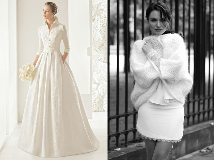 Robe pour mariage hiver 2018