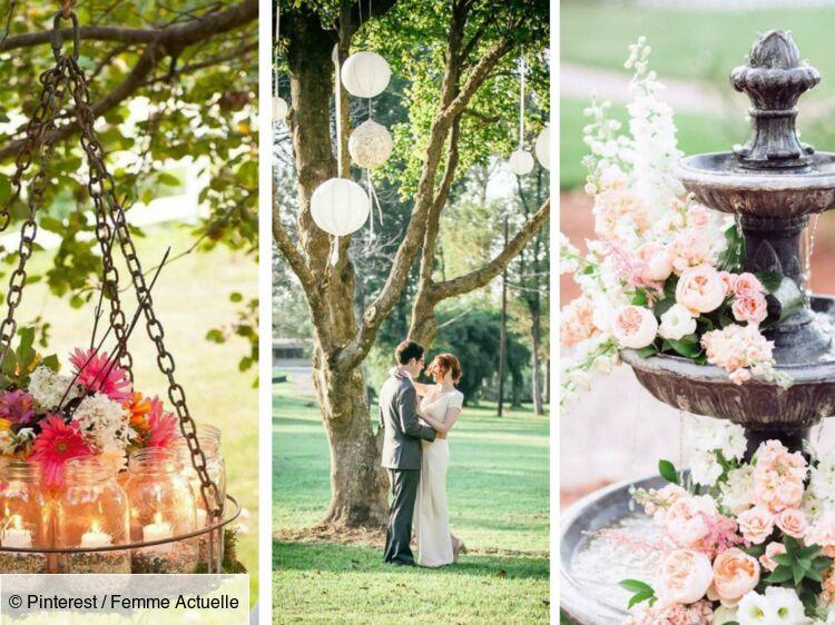 Mariage : 35 idées romantiques pour ma décoration extérieure ...