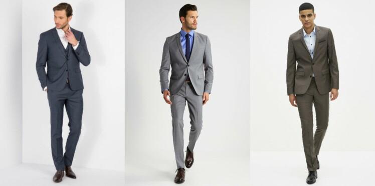 Mariage   notre sélection de costumes pour homme   Femme Actuelle Le MAG 72c9f389a91