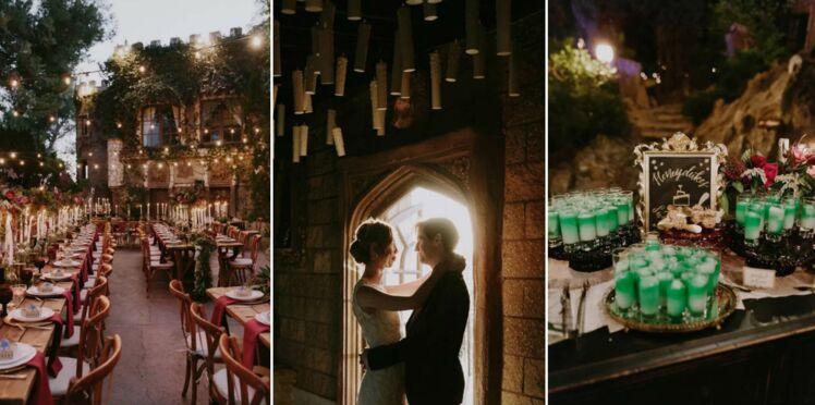 Ce mariage sur le thème de Harry Potter est tout ce qu'il y a de plus magique
