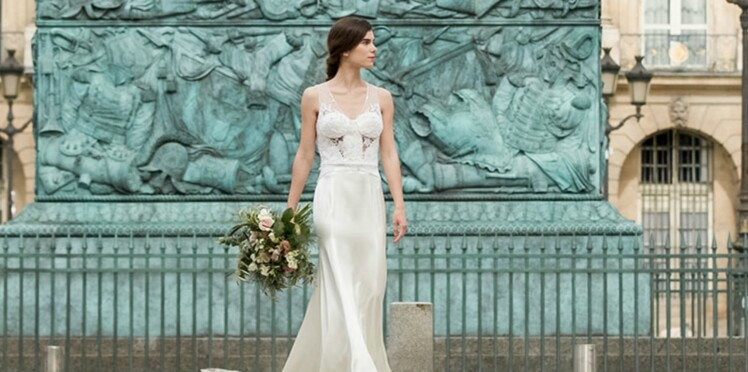 PHOTOS – J'ai une silhouette en V: 25 robes de mariée pour me mettre en valeur