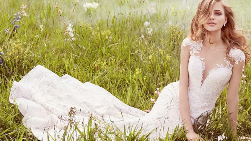 PHOTOS - 50 robes de mariée avec un décolleté vertigineux pour lui faire tourner la tête