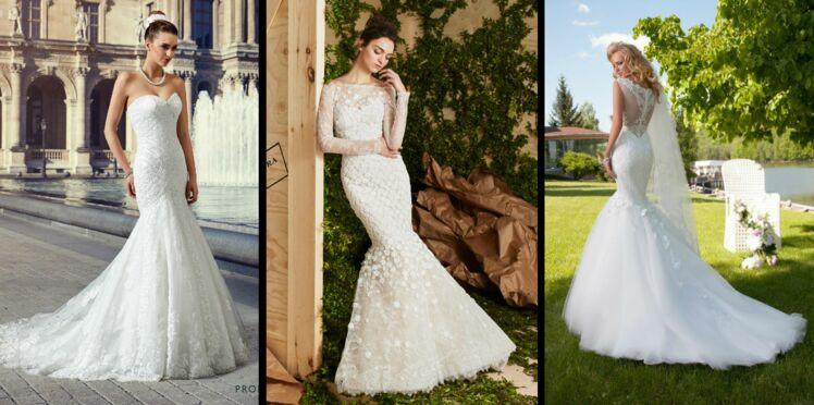 PHOTOS - 50 robes de mariée «sirène» pour être la plus belle le jour J
