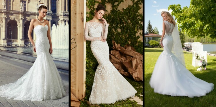 Photos 50 Robes De Mariée Sirène Pour être La Plus