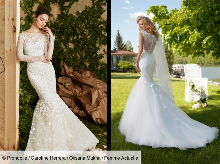 PHOTOS - 50 robes de mariée « sirène » pour