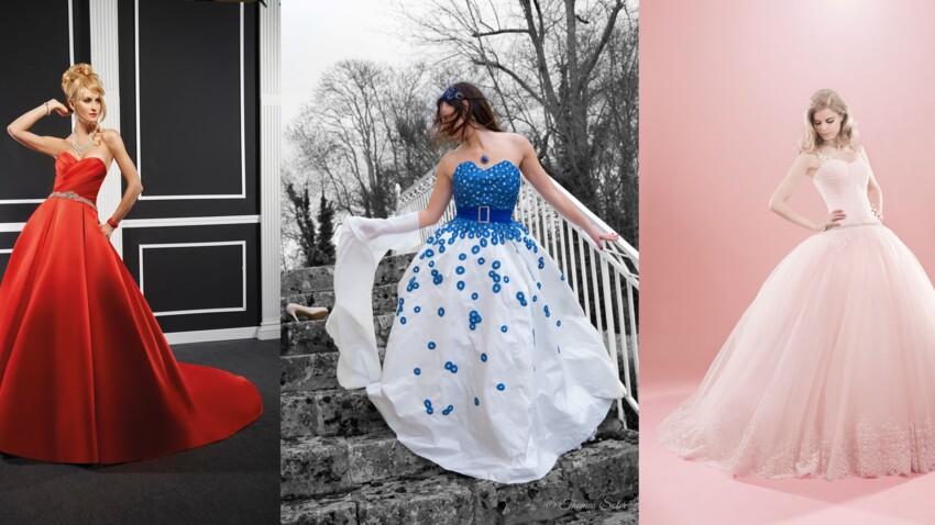 On ose la robe de mariée colorée
