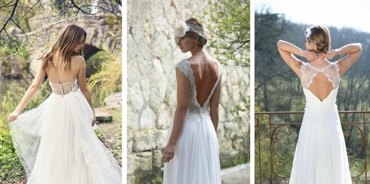 PHOTOS – Une robe de mariée dos nu pour mon mariage, je dis «oui»!