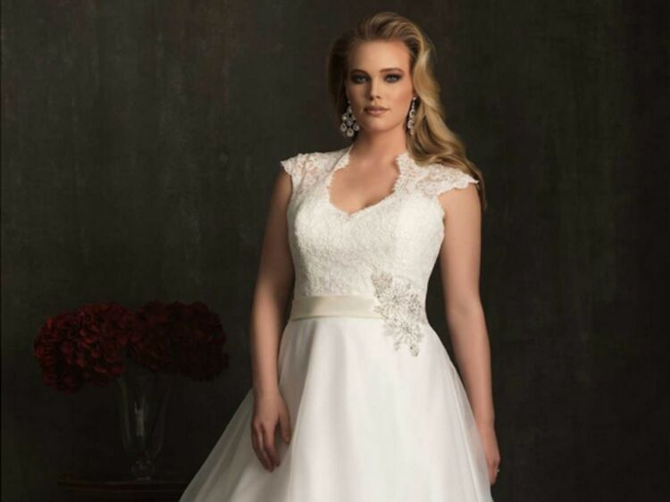 b2bc9496630 Où trouver une robe de mariée grande taille     Femme Actuelle Le MAG