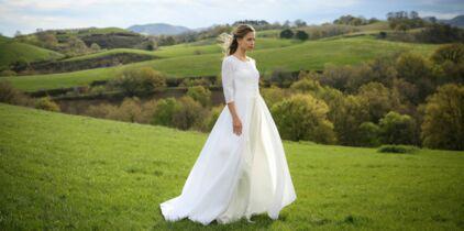 25ac924241b Je suis ronde   30 robes de mariée adaptées à ma morphologie   Femme ...