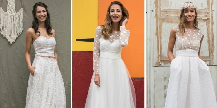 91024210a6a14c PHOTOS - J'ai une silhouette en A : 20 robes de mariée faites pour ...