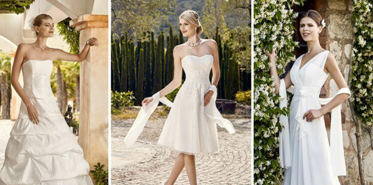Spécial petit budget : 50 robes de mariée à moins de 800 €