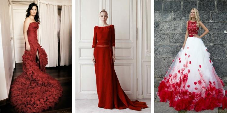 Mariage: j'ose la robe de mariée rouge ou pas?