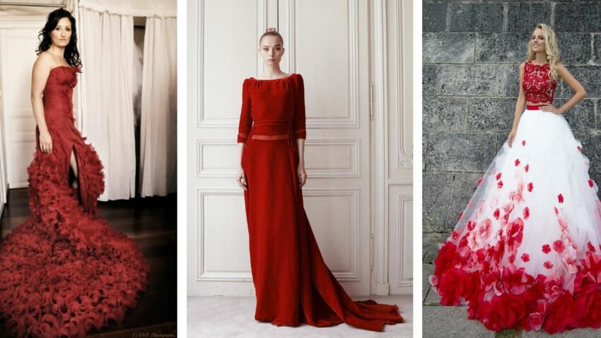 robe mariage rouge - 56% remise - bursa.ahef.