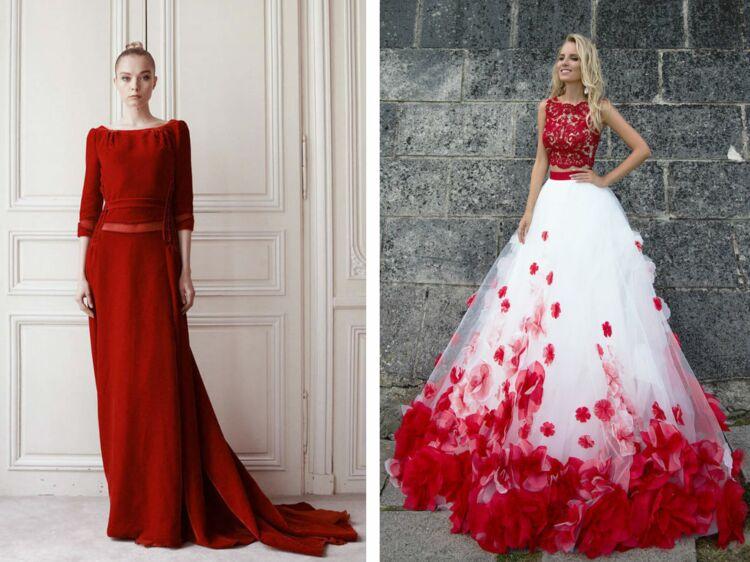 Mariage Jose La Robe De Mariée Rouge Ou Pas Femme