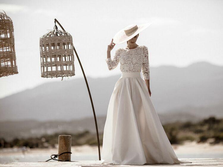 08b15744cc27c 30 robes de mariée vintage pour un mariage rétro   Femme Actuelle Le MAG