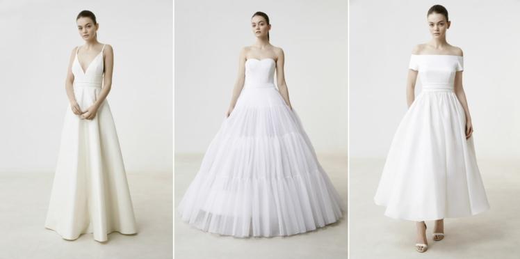 Les robes de mariée Delphine Manivet collection 2017