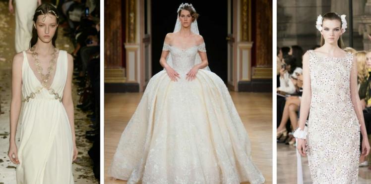 Inspiration : les plus belles robes de mariée haute couture repérées sur les défilés