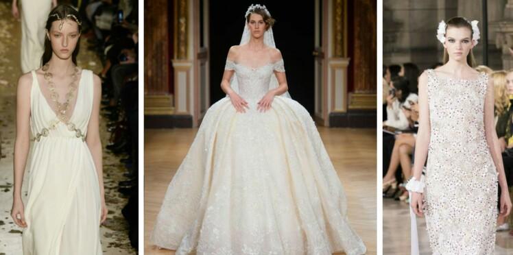 1ca95599f4d Inspiration   les plus belles robes de mariée haute couture repérées sur les  défilés