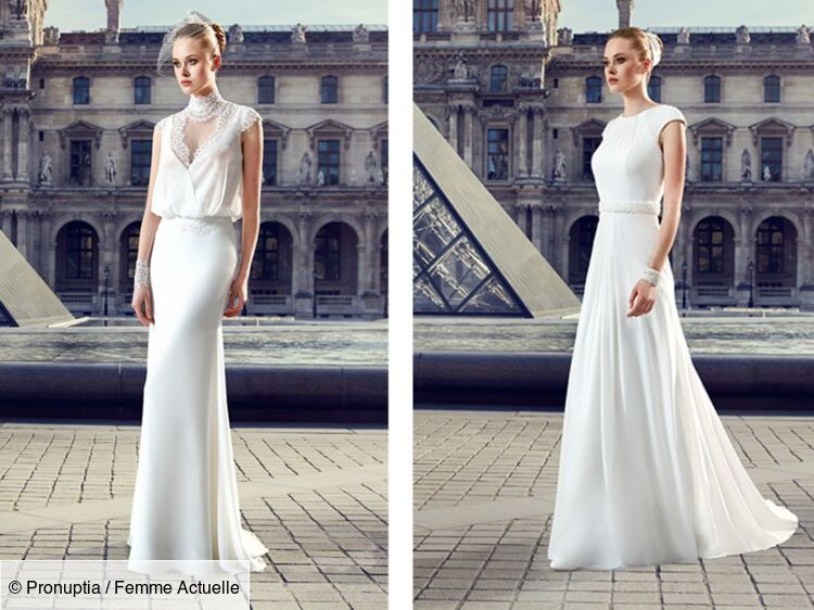 Les Robes De Mariee Pronuptia Collection 2017 Femme Actuelle Le Mag