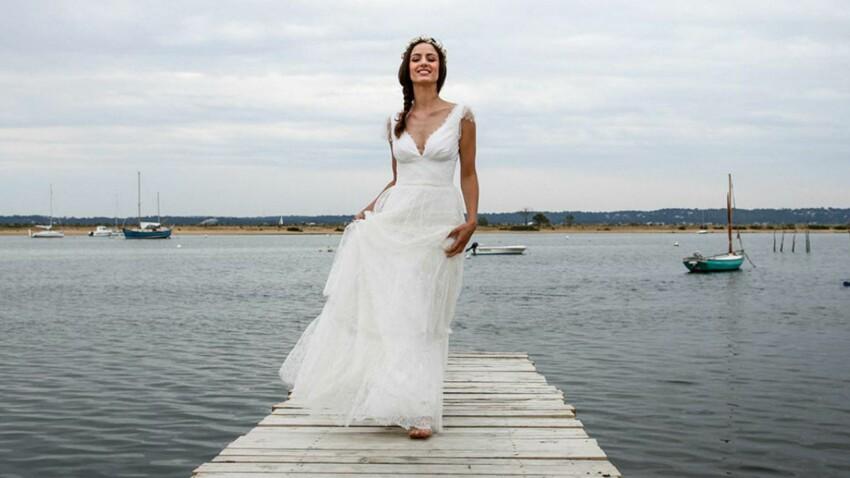 PHOTOS - 35 robes de mariée style empire pour un mariage royal