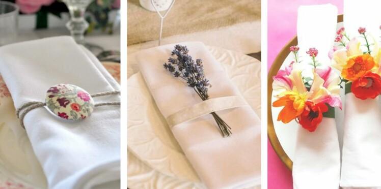 Rond De Serviette 50 Idees Pour Ma Table De Mariage Femme