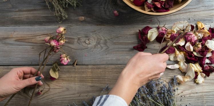 Tendance mariage: les fleurs séchées pour une ambiance bohème chic