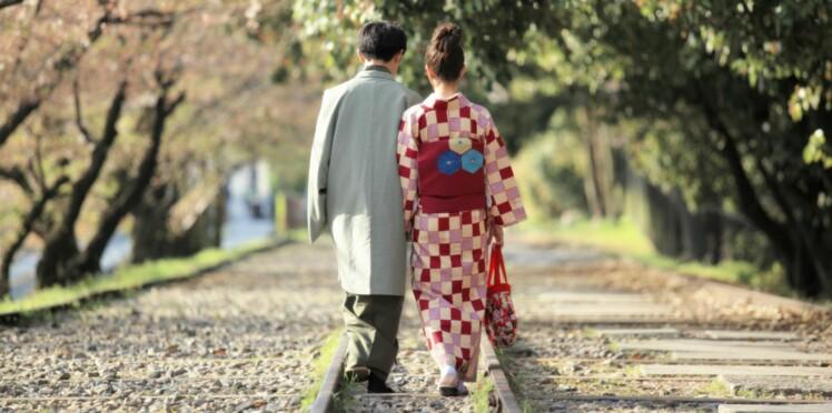 Mag Mag Un Tendance On Actuelle Mariage Mariage Mariage Femme Faisait Et Le Japonais Si qwOwP7p