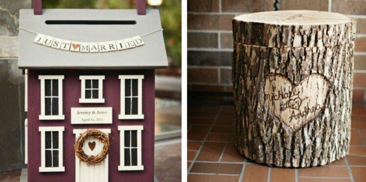 Je veux une urne de mariage originale: 40 idées repérées sur Pinterest
